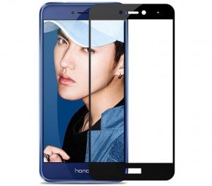 Folie sticla securizata 5D Full Glue Huawei P9 Lite 2017, Negru