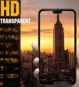 Folie sticla securizata Full Glue Huawei P20 Lite, Black