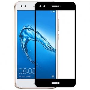 Folie sticla securizata Full Glue Huawei P9 Lite Mini 2017, Black