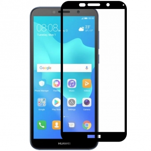 Folie sticla securizata Full Glue Huawei Y5 (2018), Black