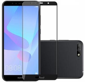 Folie sticla securizata Full Glue Huawei Y6 (2018), Black