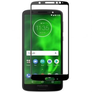 Folie sticla securizata Full Glue Motorola Moto G6, Black