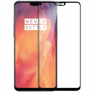 Folie sticla securizata Full Glue OnePlus 6, Black