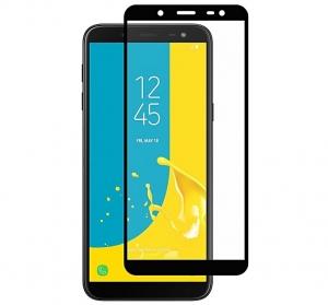 Folie sticla securizata Full Glue Samsung Galaxy J6 (2018), Black