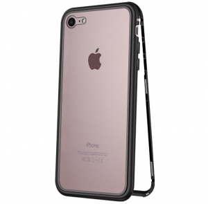 Husa 360 Magnetic Case pentru iPhone 8, Negru