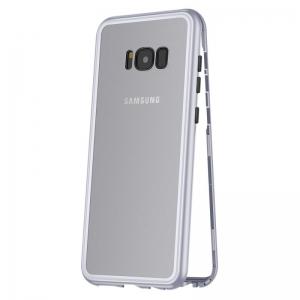 Husa 360 Magnetic Case pentru Samsung Galaxy S8, Silver