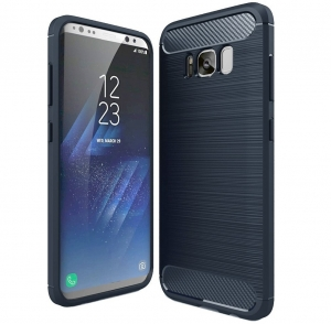 Husa Air Carbon Samsung Galaxy S8 Plus, Dark Blue