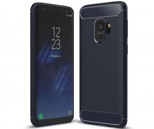 Husa Air Carbon Samsung Galaxy S9, Dark Blue