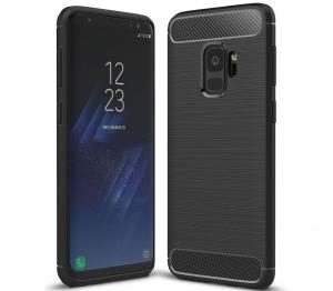 Husa Air Carbon Samsung Galaxy S9, Negru