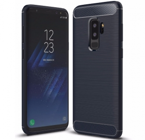 Husa Air Carbon Samsung Galaxy S9 Plus, Dark Blue
