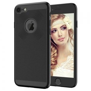 Husa Air cu perforatii iPhone 8, Negru