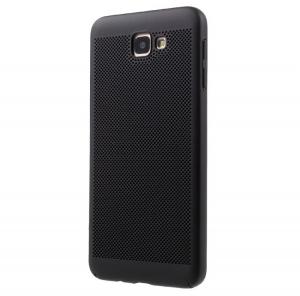 Husa Air cu perforatii Samsung Galaxy J5 Prime, Negru
