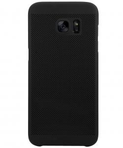 Husa Air cu perforatii Samsung Galaxy S7 Edge, Negru