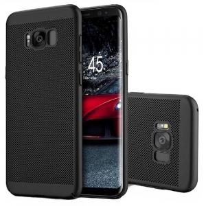 Husa Air cu perforatii Samsung Galaxy S8, Negru