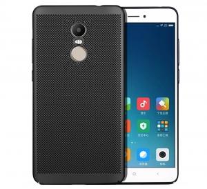 Husa Air cu perforatii Xiaomi Redmi Note 4 (Mediatek), Negru