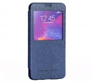 Husa Book View Mercury Goospery Wow Samsung Galaxy Note 5, Albastru