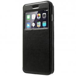 Husa Book View Roar Noble iPhone 6 Plus / 6S Plus, Negru