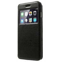 Husa Book View Roar Noble iPhone 7, Negru