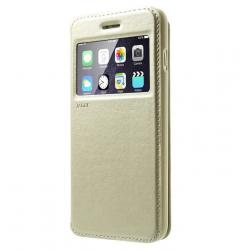 Husa Book View Roar Noble iPhone 8, Gold