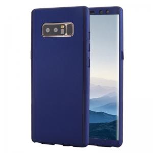 Husa Full Cover 360 Samsung Galaxy Note 8, Albastru