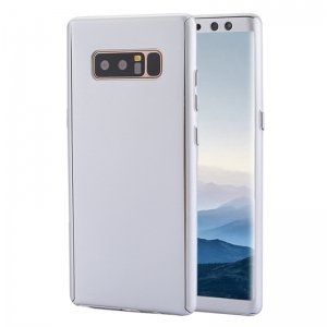 Husa Full Cover 360 Samsung Galaxy Note 8, Silver