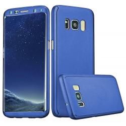 Husa Full Cover 360 Samsung Galaxy S8, Albastru