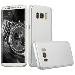 Husa Full Cover 360 Samsung Galaxy S8 Plus, Silver