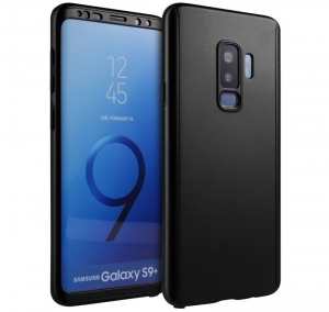 Husa Full Cover 360 Samsung Galaxy S9 Plus, Negru