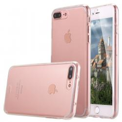 Husa Full TPU 360 (fata + spate) iPhone 8 Plus, Transparent