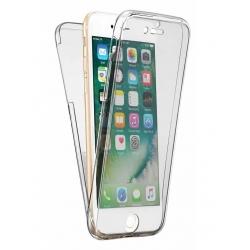 Husa Full TPU 360 (fata + spate) iPhone 8, Transparent
