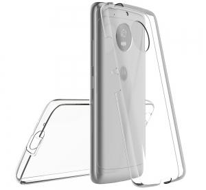 Husa Full TPU 360 fata + spate Motorola Moto G5, Transparent