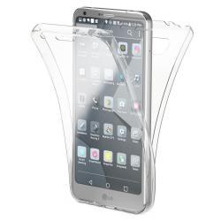 Husa Full TPU 360 (fata + spate) pentru LG G6, Transparent