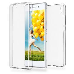 Husa Full TPU 360 (fata + spate) pentru Sony Xperia Z5, Transparent