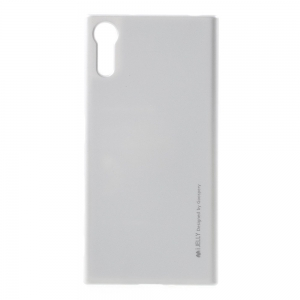 Husa Goospery i-Jelly Sony Xperia XZ, Silver