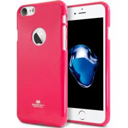 Husa Goospery Jelly iPhone 7, Hot Pink