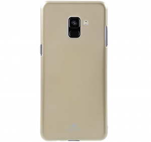 Husa Goospery Jelly Samsung Galaxy A8 (2018), Gold
