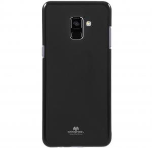 Husa Goospery Jelly Samsung Galaxy A8 (2018), Negru