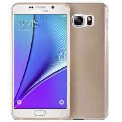 Husa Goospery Jelly Samsung Galaxy Note 5, Gold