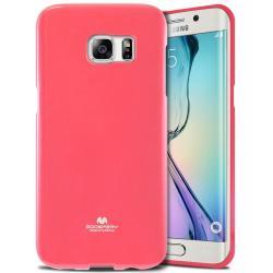 Husa Goospery Jelly Samsung Galaxy S6 Edge, Hot Pink