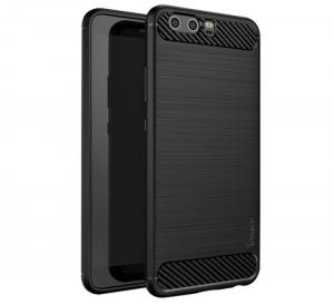 Husa Huawei P10 iPaky Fiber, Negru