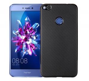 Husa Huawei P9 Lite 2017 i-Zore Carbon, Negru