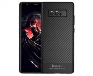 Husa iPaky Carbon Fiber Samsung Galaxy Note 8, Negru