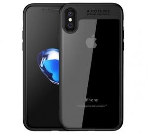 Husa iPaky Slim iPhone X, Negru