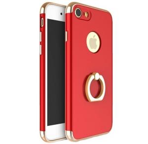 Husa iPhone 6 / 6S Joyroom LingPai Ring, Red