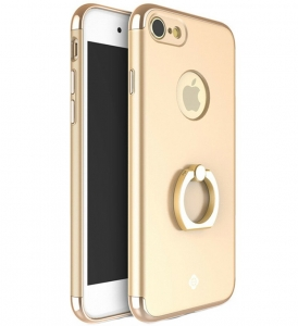 Husa iPhone 7 Joyroom LingPai Ring, Gold