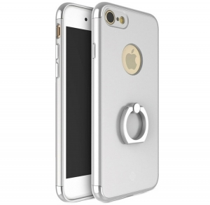 Husa iPhone 7 Joyroom LingPai Ring, Silver