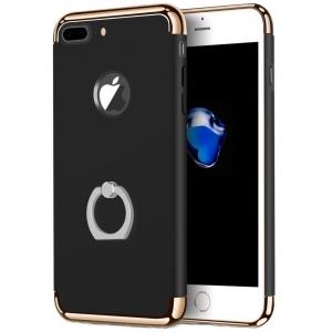 Husa iPhone 7 Plus Joyroom LingPai Ring, Black