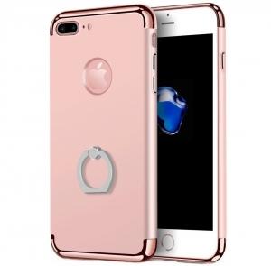 Husa iPhone 7 Plus Joyroom LingPai Ring, Rose Gold