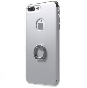 Husa iPhone 7 Plus Joyroom LingPai Ring, Silver