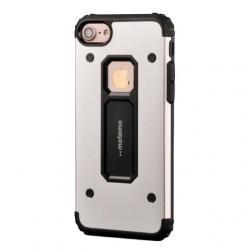 Husa Motomo Armor Hybrid iPhone SE / 5 / 5S, Silver